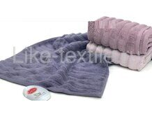 "Набор полотенец Карвен Micro Cotton Premium ""EZGI-2"" 70*140 3шт.  махра  НS 979"
